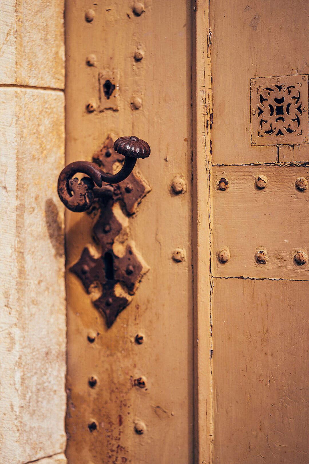 Download Old Antique Door FREE Stock Photo