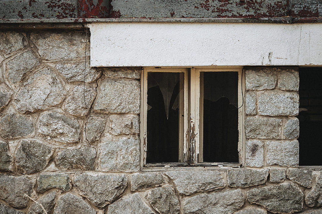 Download Old Broken Windows FREE Stock Photo