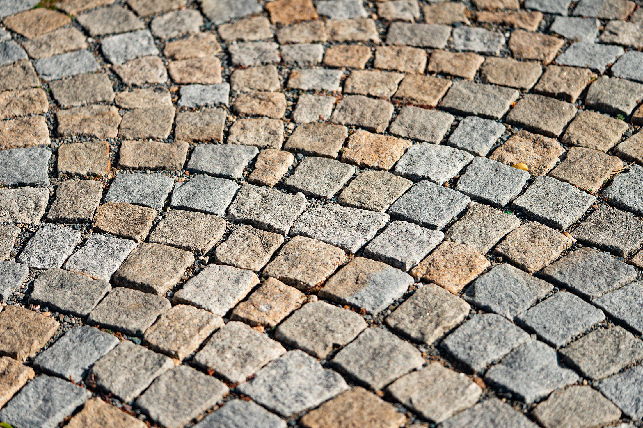 Old Castle Pavement Free Stock Photo