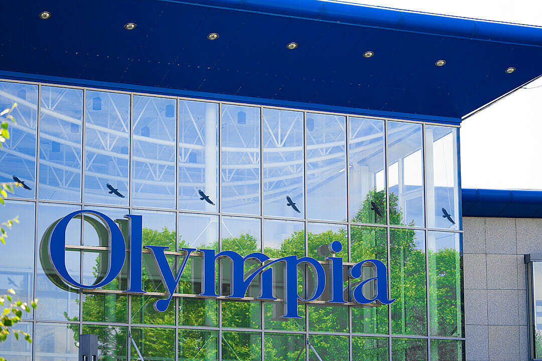 Download Olympia Shopping Center in Brno FREE Stock Photo