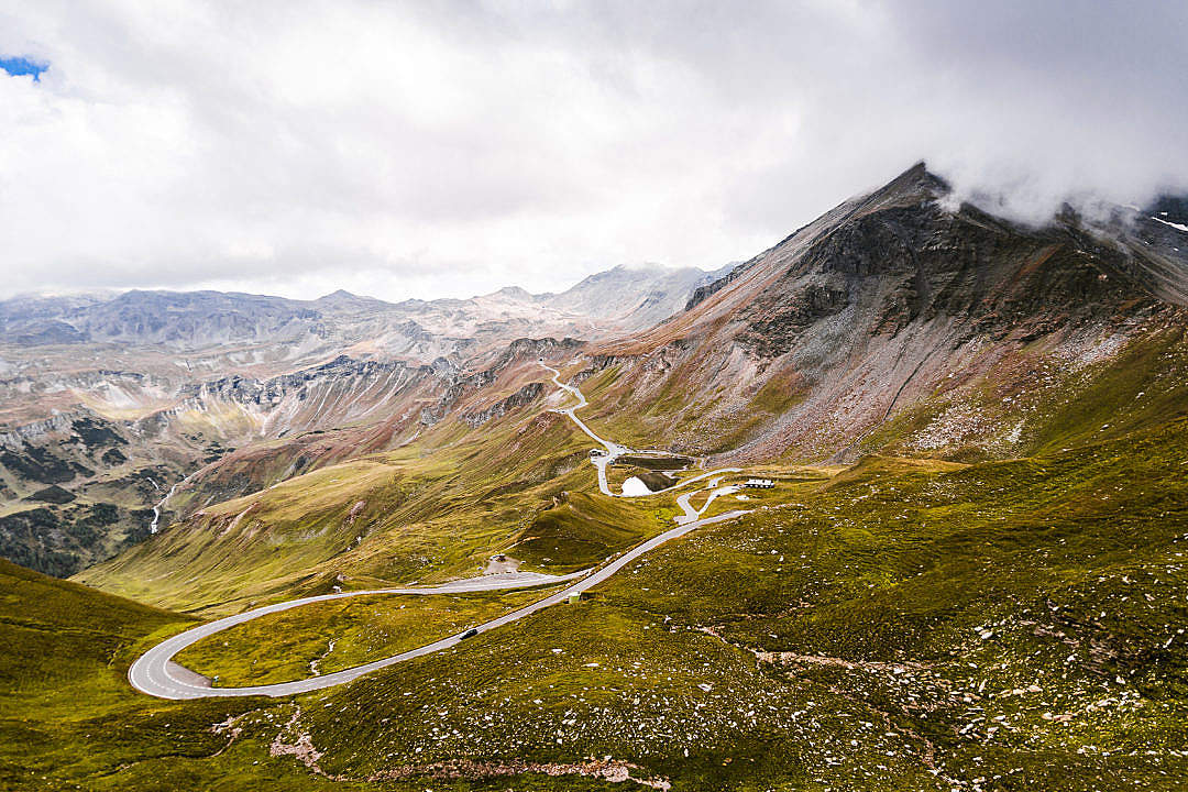 Download One of The Best Roads in Austria: Grossglockner FREE Stock Photo