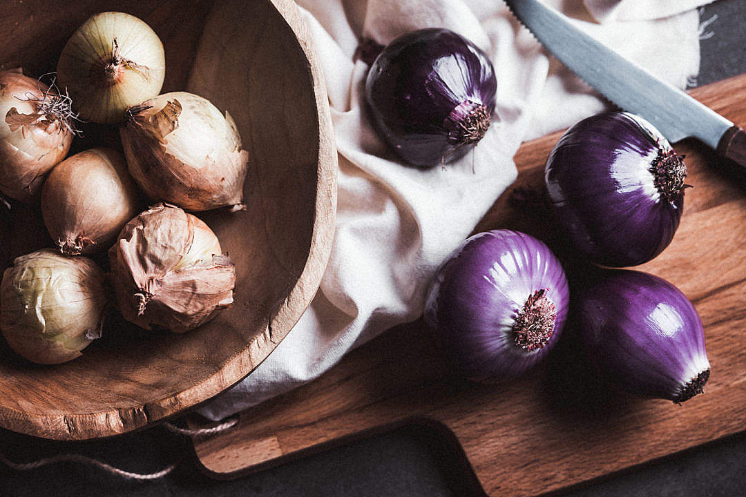 Download Onions FREE Stock Photo