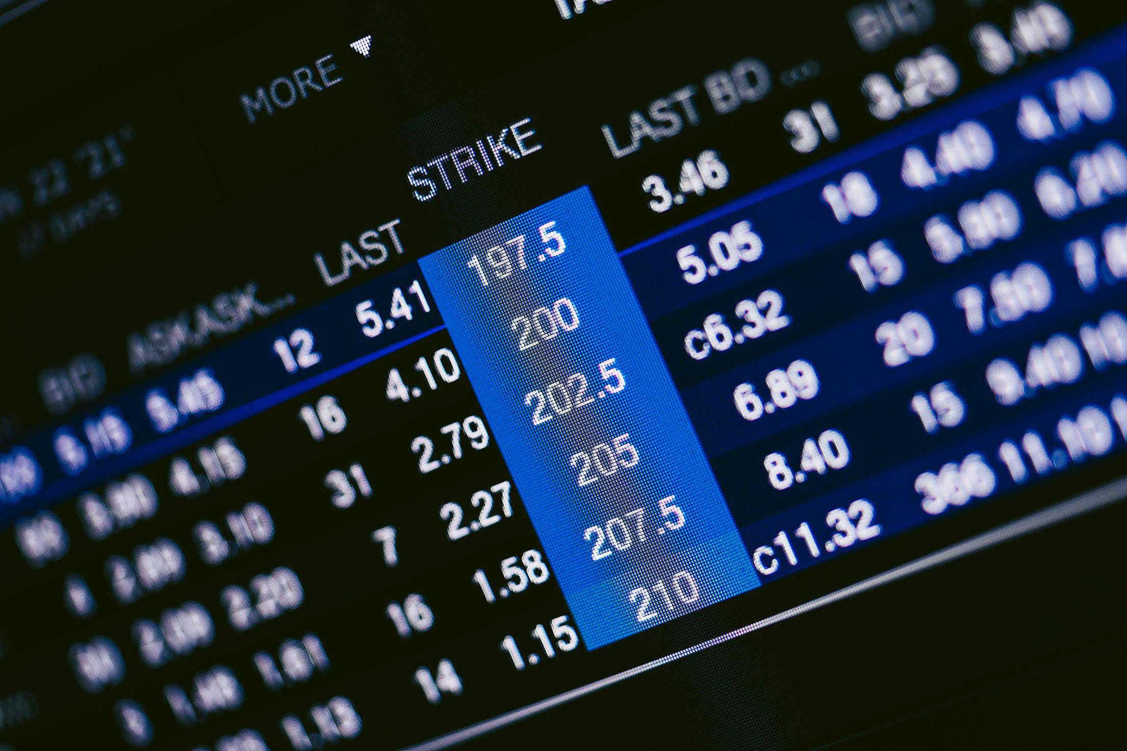 Options Trading Free Stock Photo