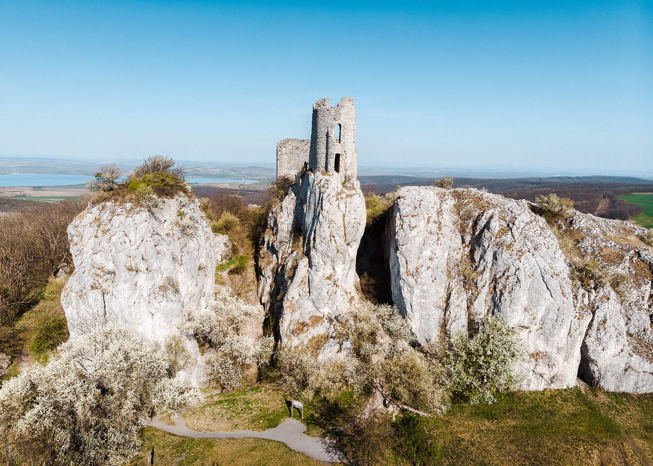 Orphan's Castle in Klentnice, South Moravia Free Stock Photo