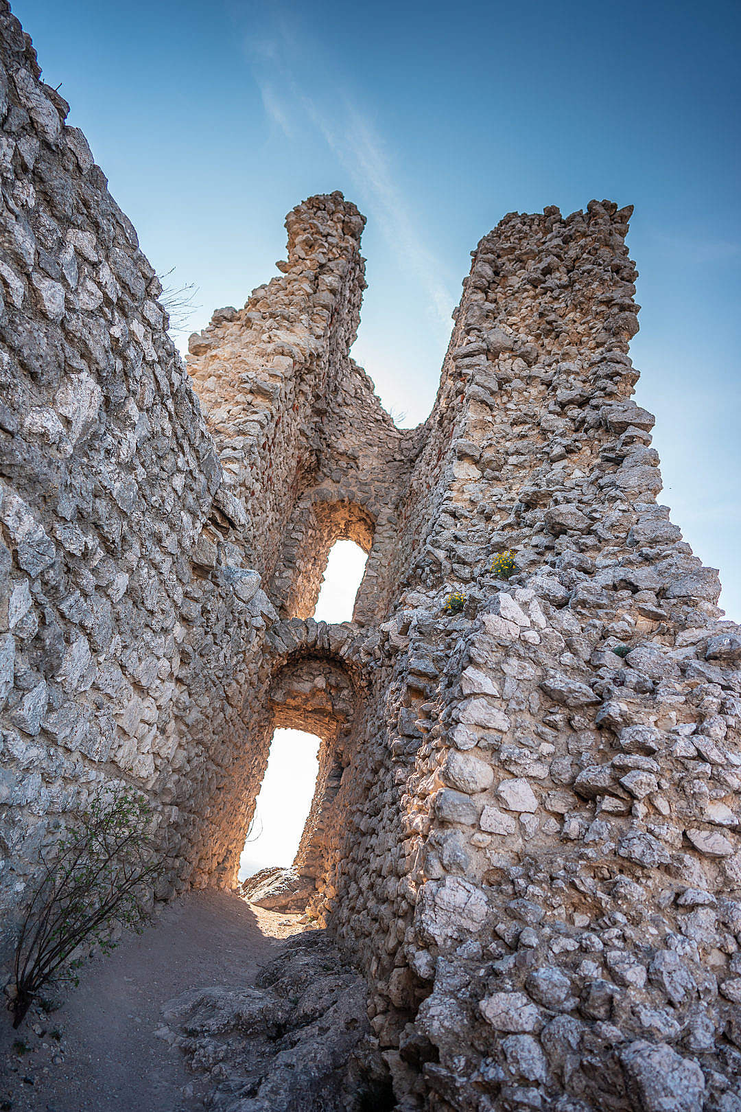 Download Orphan's Castle Ruins in Klentnice, Czechia FREE Stock Photo