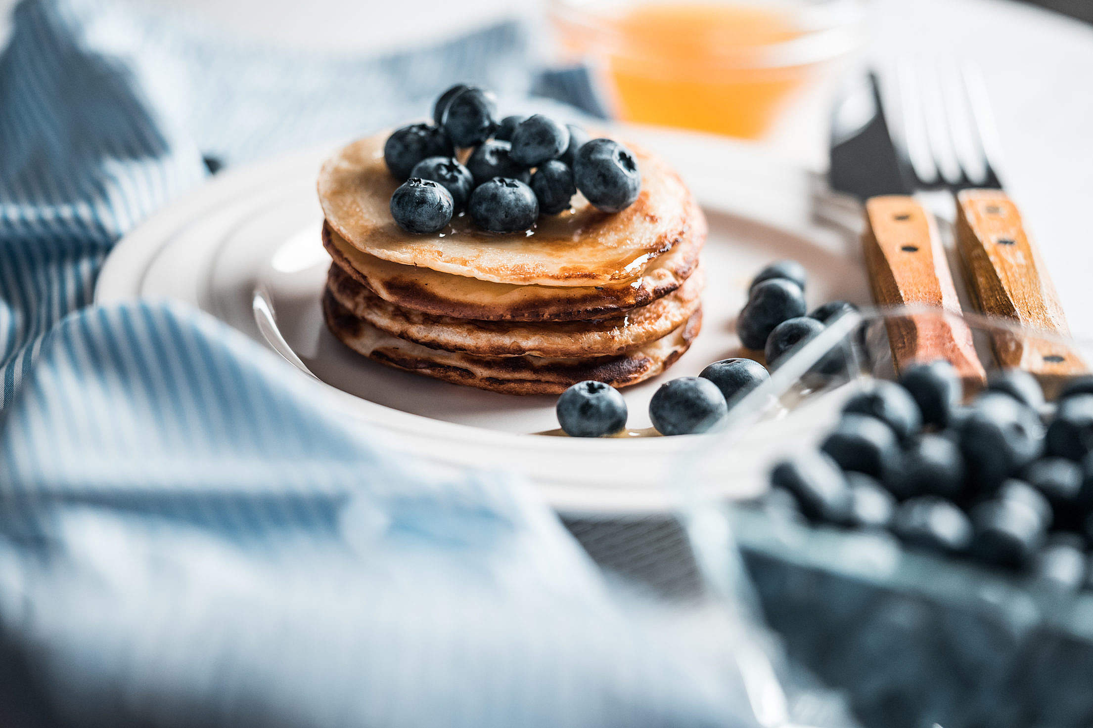 Pancakes Free Stock Photo