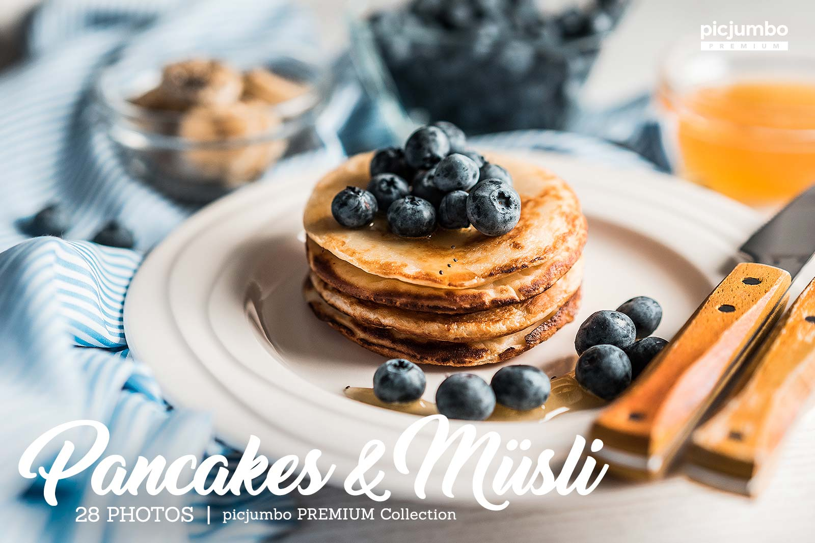 Pancakes & Müsli — get it now in picjumbo PREMIUM!