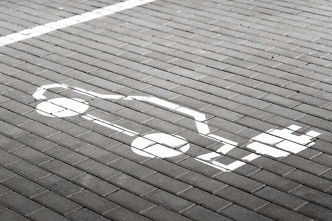 Download Parking Space for Electric Cars Charging FREE Stock Photo