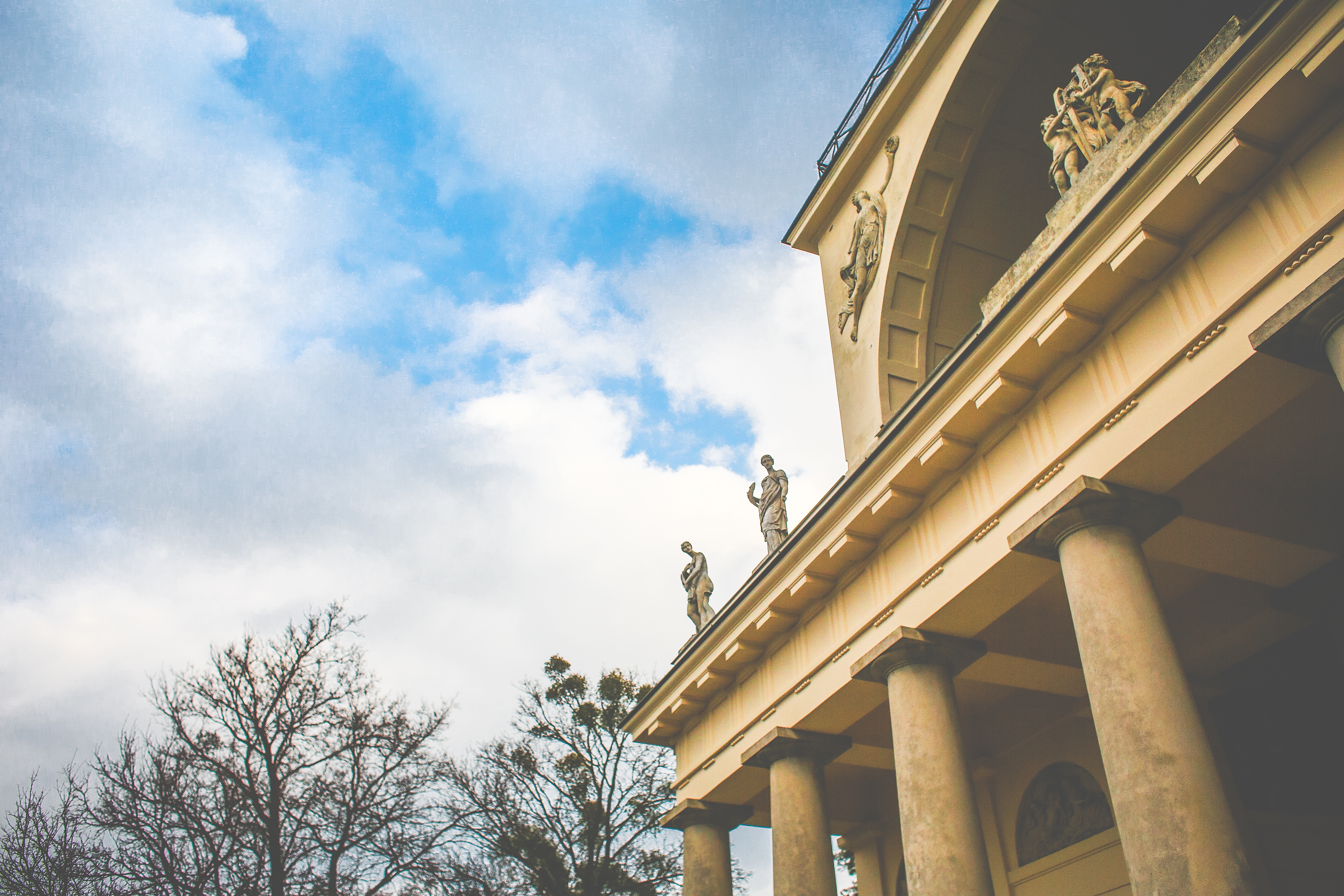 Download Part of Temple of Apollo, Czech Republic FREE Stock Photo