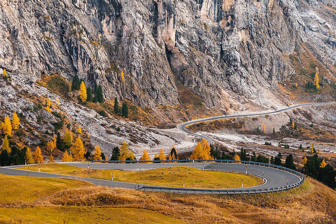 Download Passo Gardena in Dolomites, Italy FREE Stock Photo