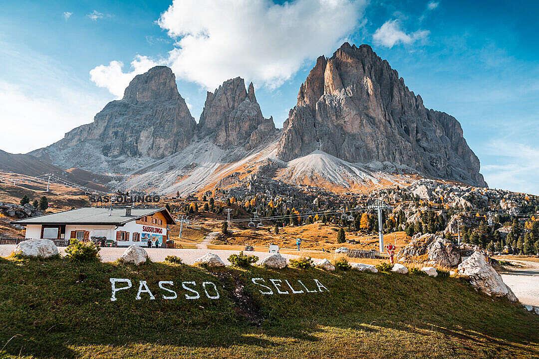 Download Passo Sella, Dolomites, Italy FREE Stock Photo