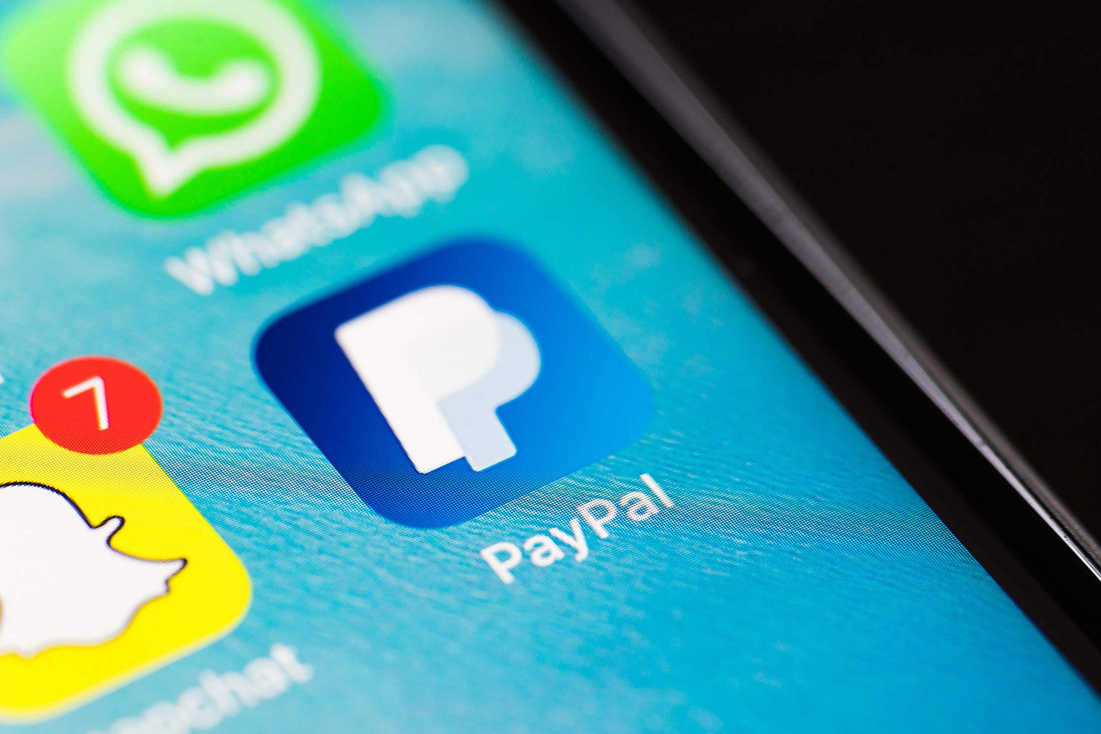 PayPal Logo App Icon Free Stock Photo