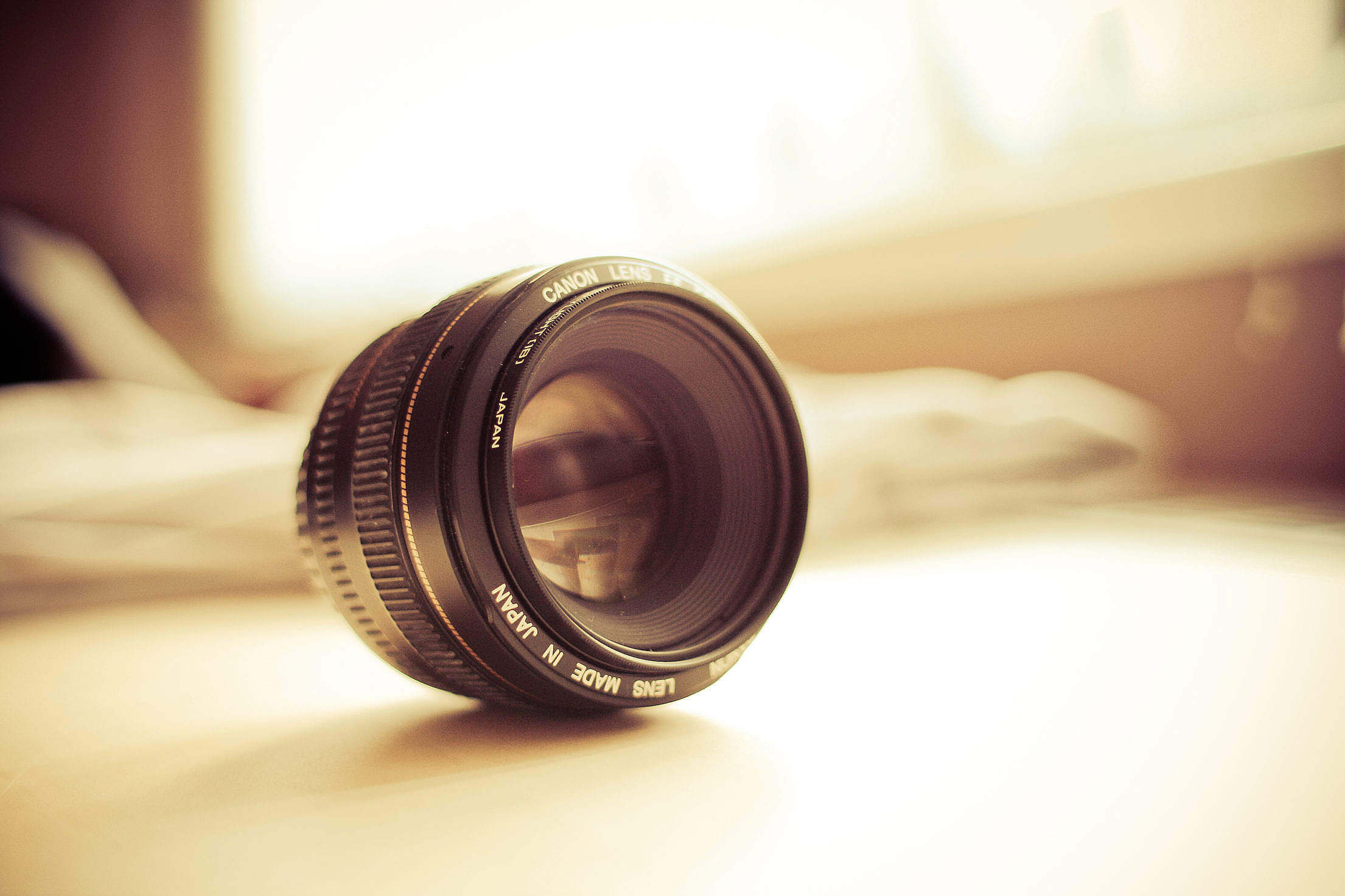 Photography Lens Detail Free Stock Photo