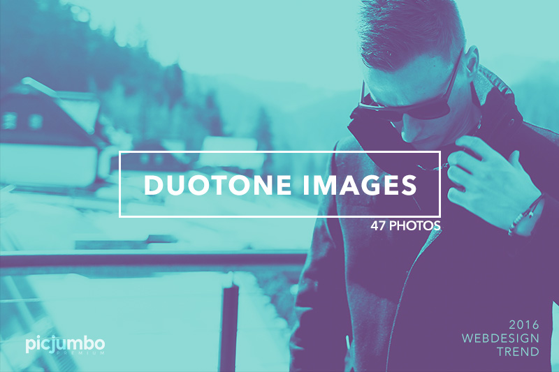 Duotone Images — get it now in picjumbo PREMIUM!