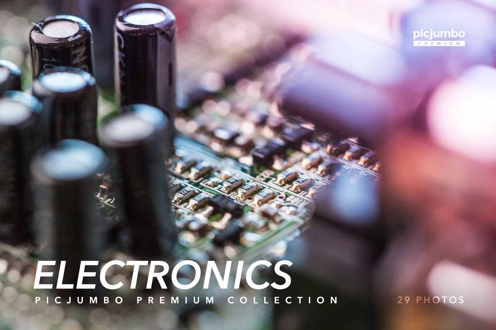 Electronics — get it now in picjumbo PREMIUM!