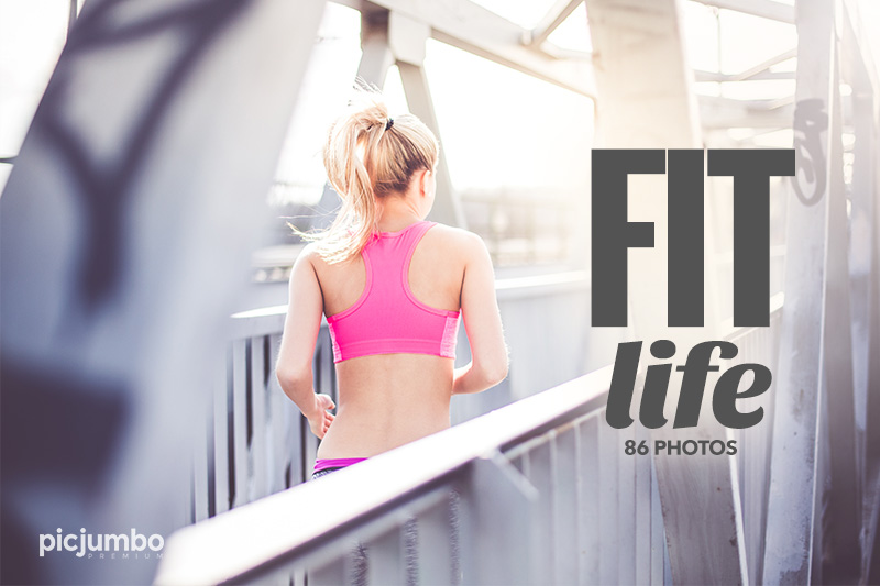 FIT Life — get it now in picjumbo PREMIUM!