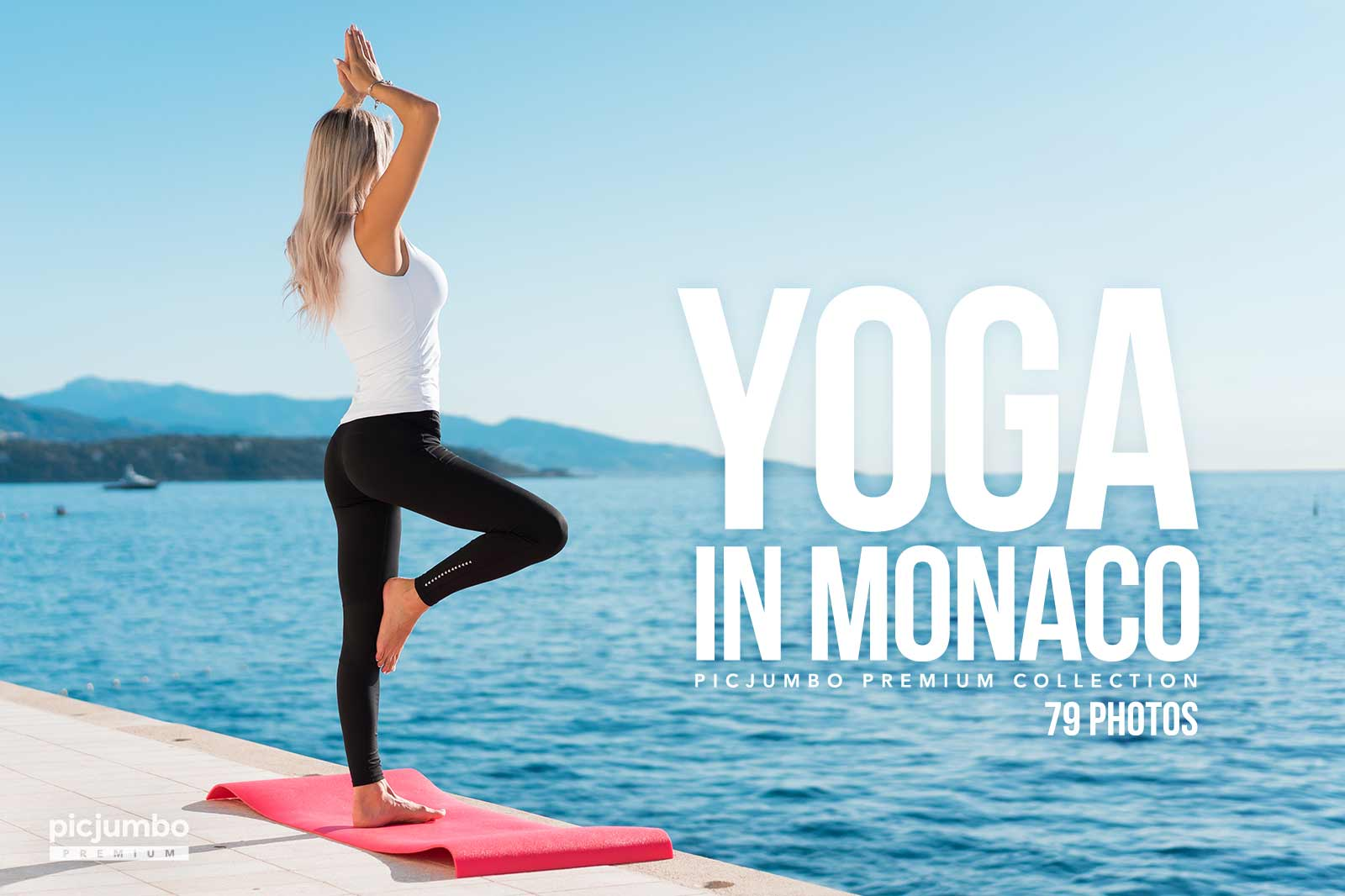Yoga in Monaco — get it now in picjumbo PREMIUM!