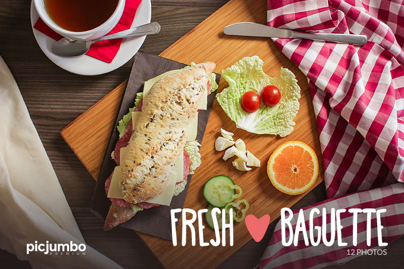 Join PREMIUM and get full collection now: Fresh Baguette