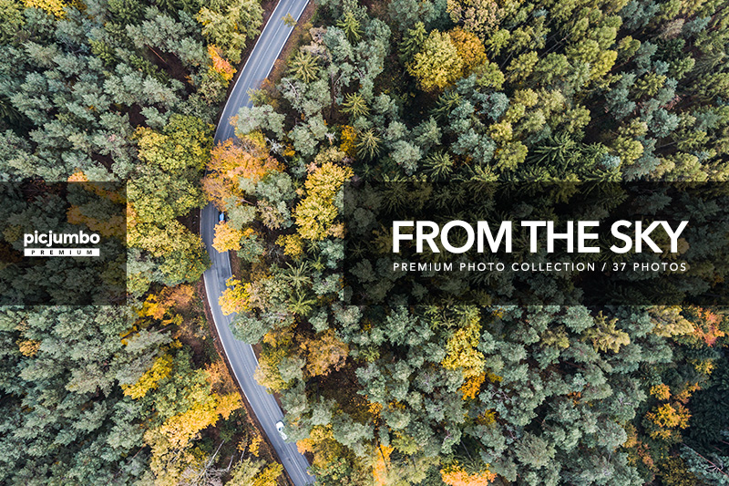 From The Sky — get it now in picjumbo PREMIUM!