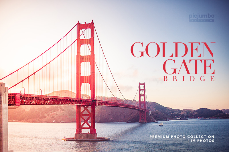 Golden Gate Bridge — get it now in picjumbo PREMIUM!
