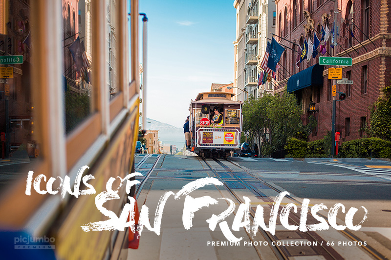 Icons of San Francisco — get it now in picjumbo PREMIUM!