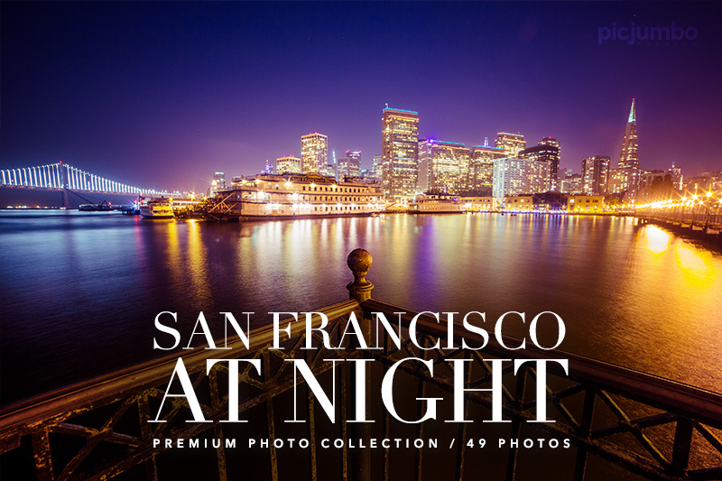 San Francisco At Night — Join PREMIUM and get instant access to this collection!
