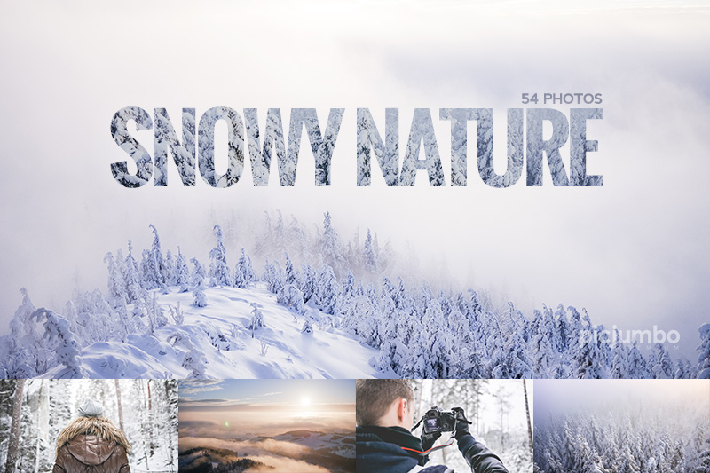 Get this collection now: Snowy Nature