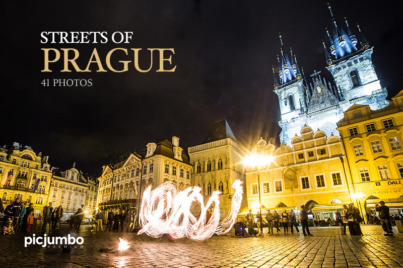 Streets of Prague — Join PREMIUM and get instant access to this collection!