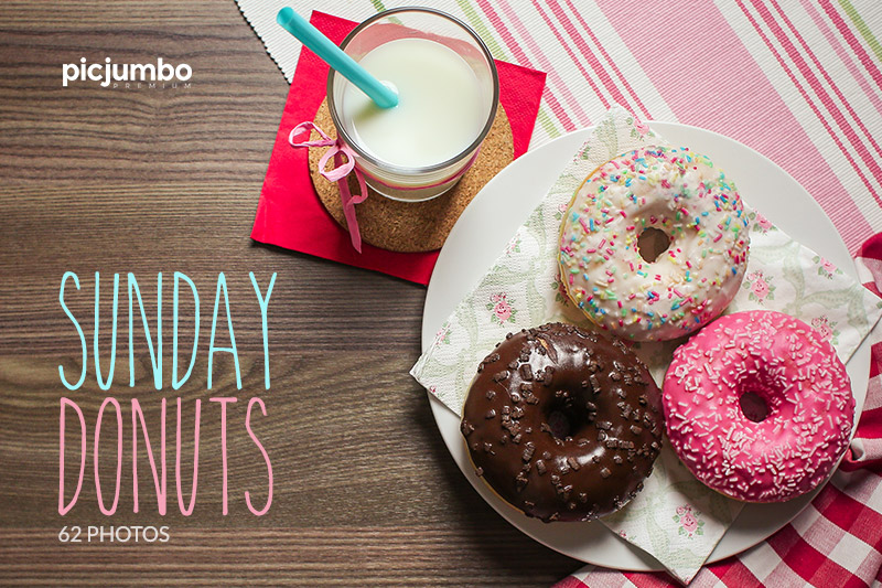Sunday Donuts — Join PREMIUM and get instant access to this collection!