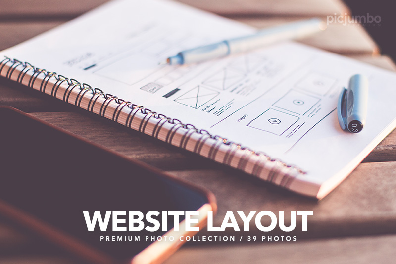 Website Layout — Join PREMIUM and get instant access to this collection!