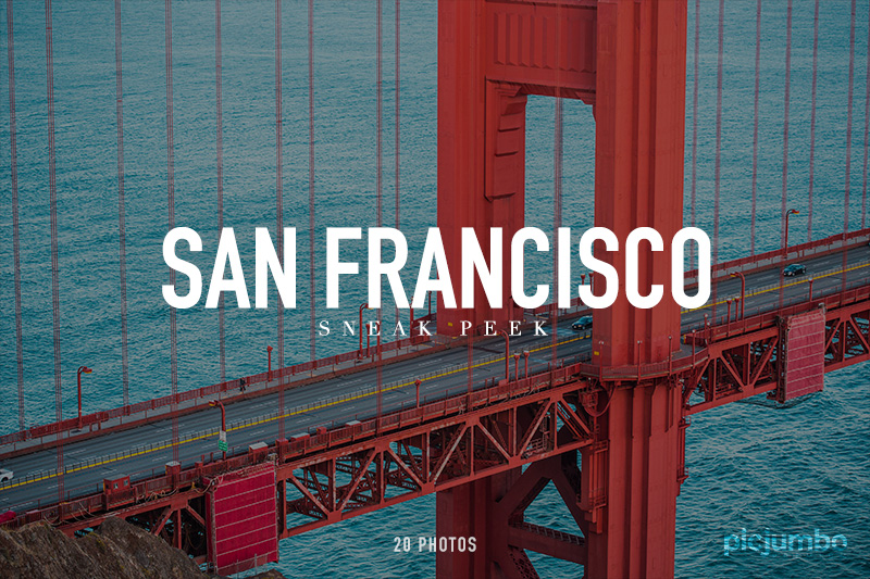 San Francisco Sneak Peek — Join PREMIUM and get instant access to this collection!