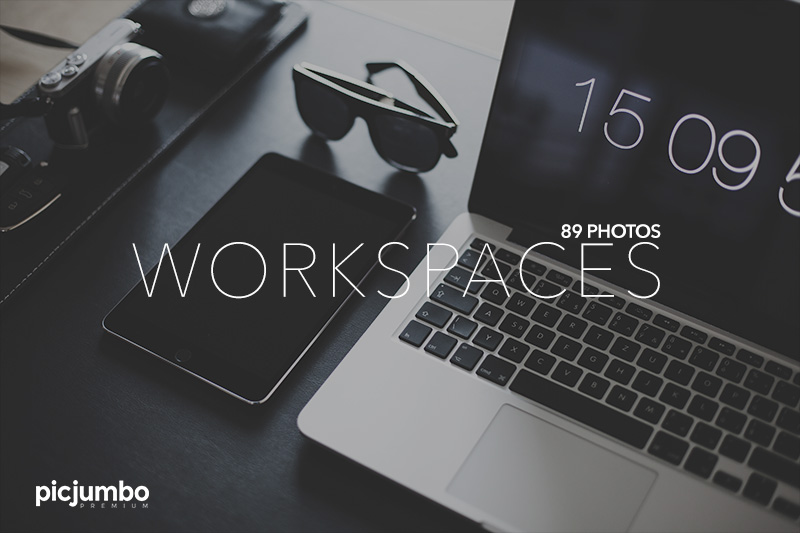 Workspaces — get it now in picjumbo PREMIUM!