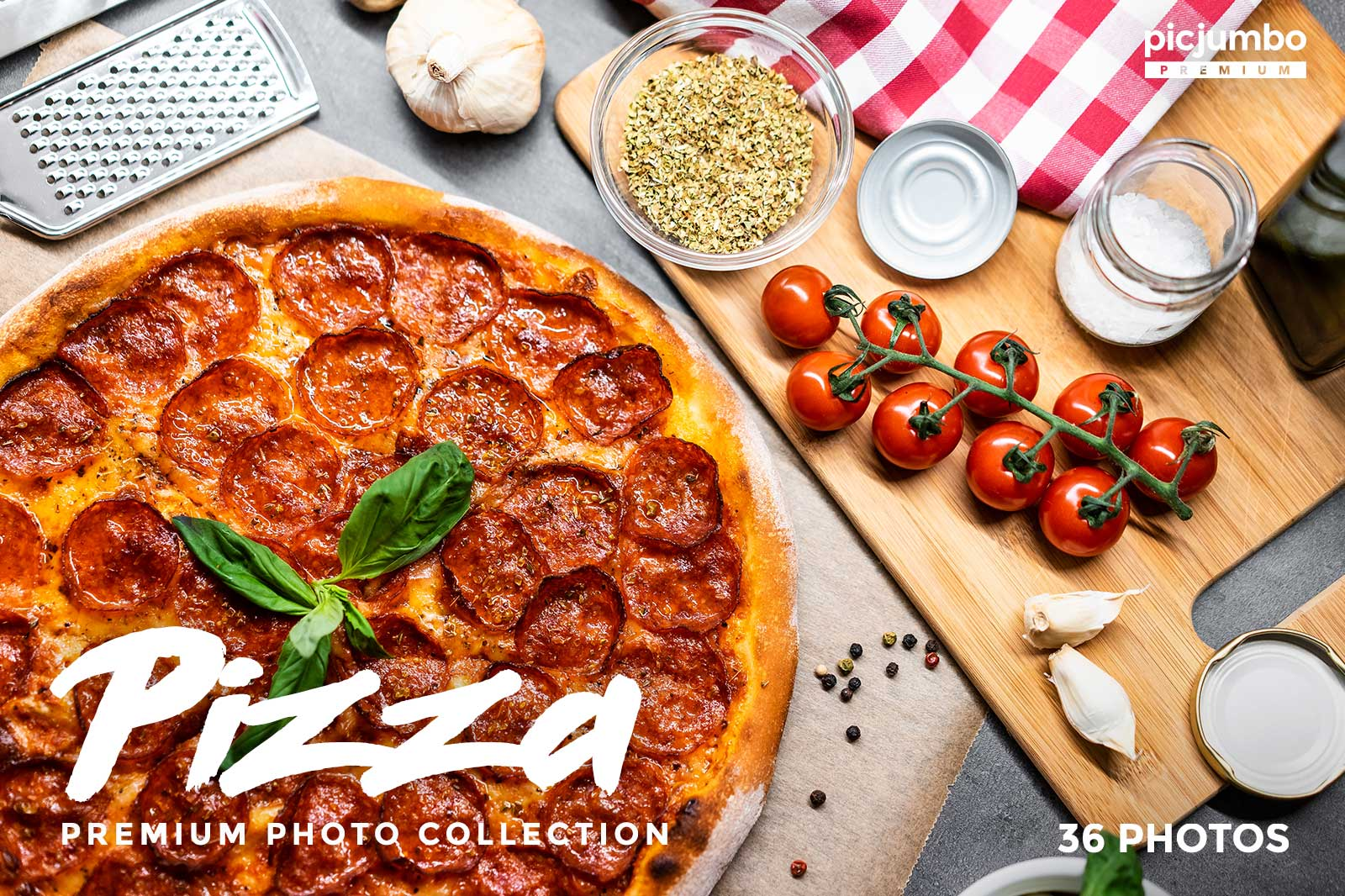 Pizza stock photo collection