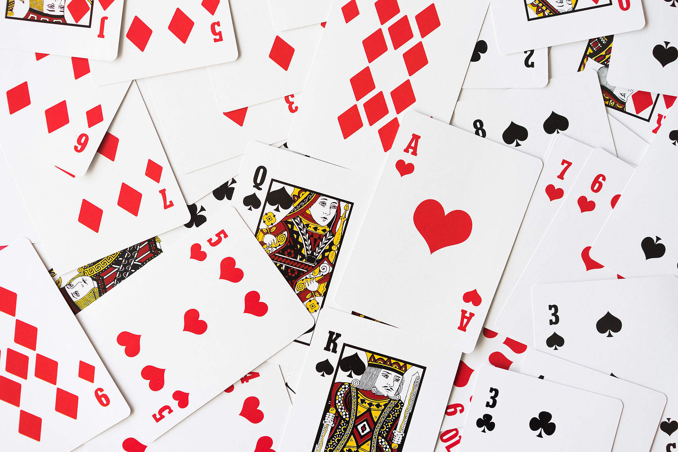 Playing Cards Free Stock Photo