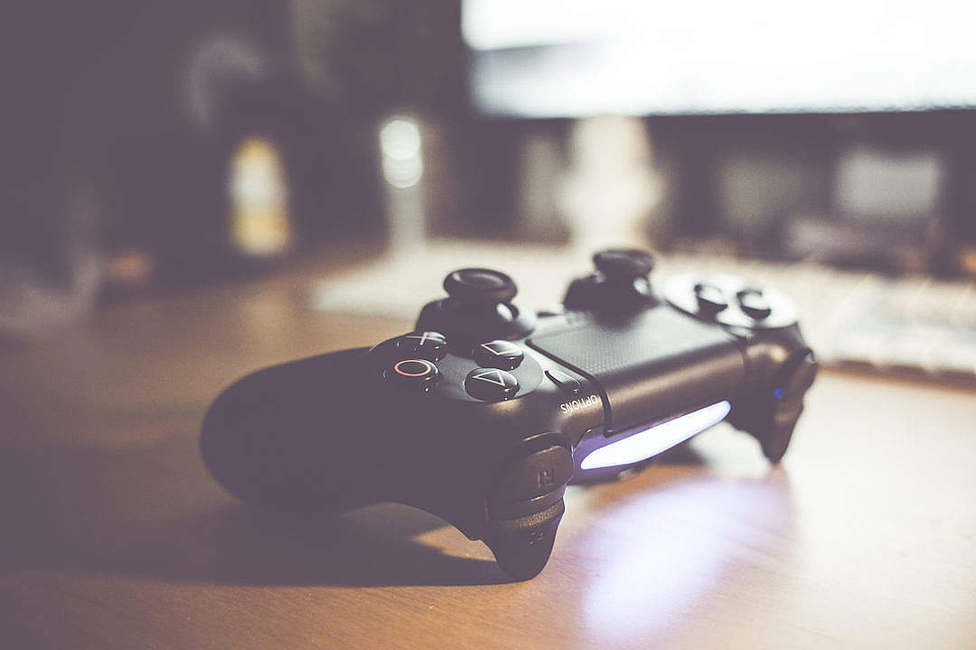 Download Playstation 4 Gaming Controller FREE Stock Photo