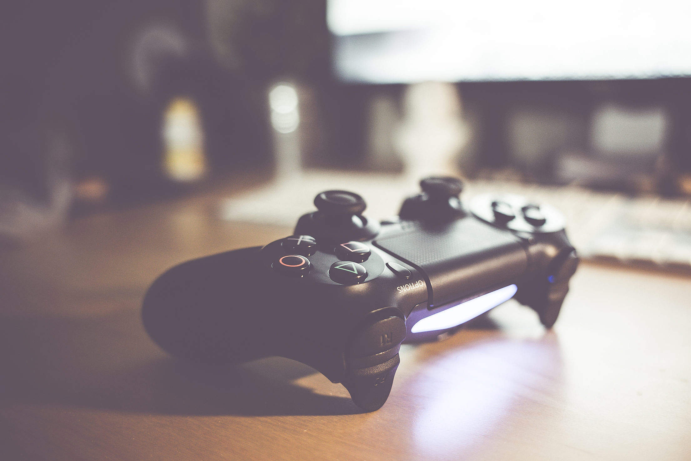 Playstation 4 Gaming Controller Free Stock Photo