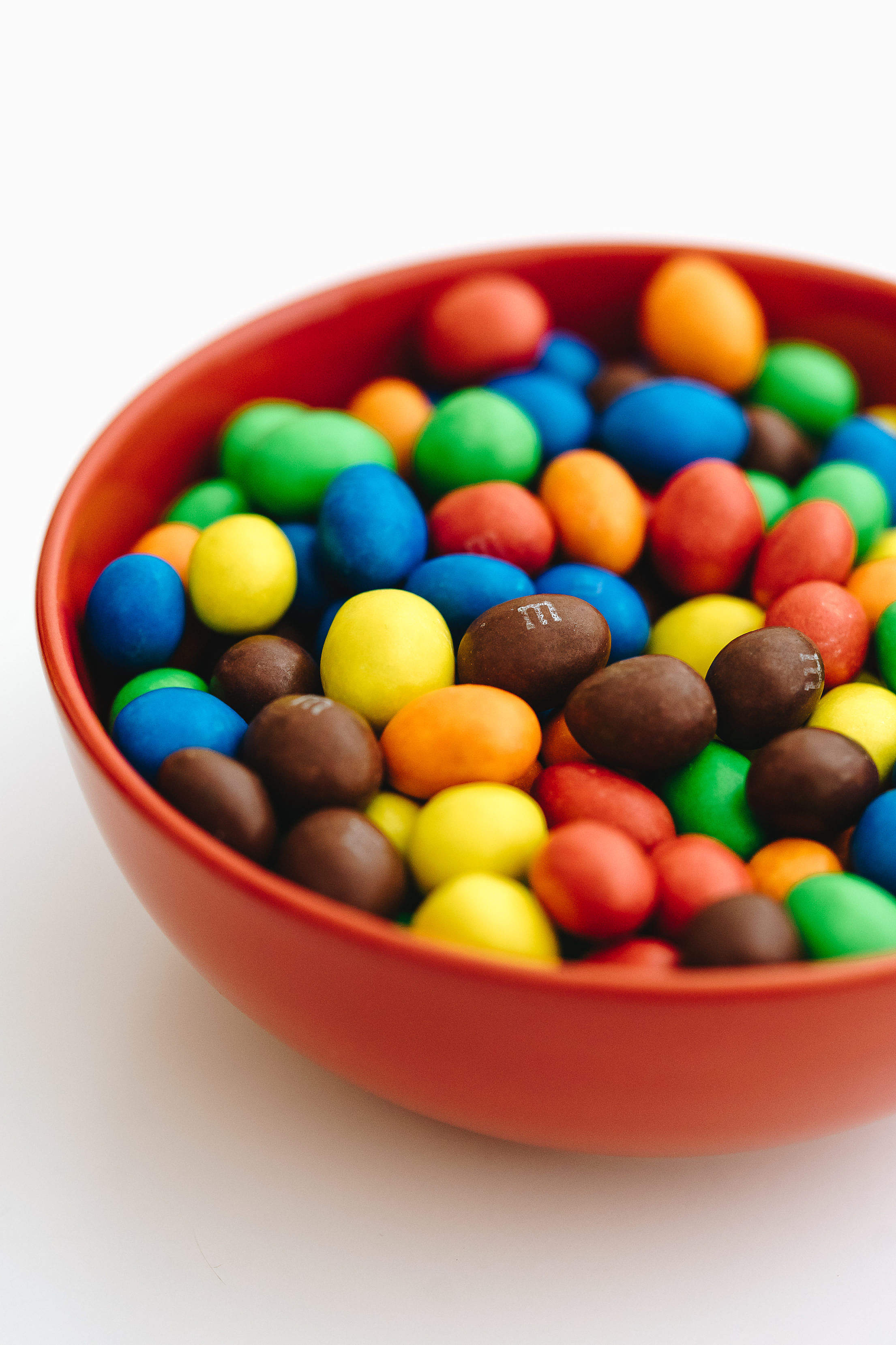Popular M&M's Chocolate Candy Free Stock Photo