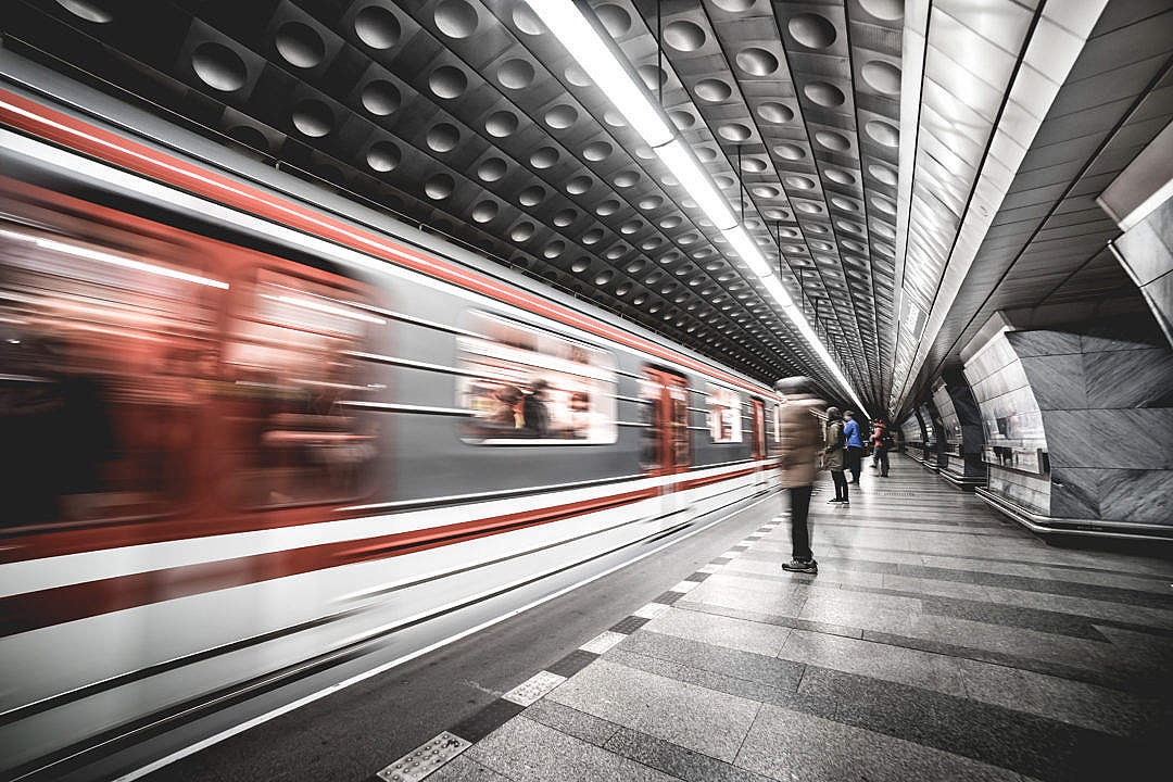 Download Prague Metro Subway Public Transport Network FREE Stock Photo