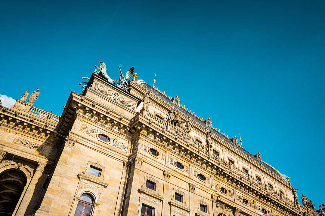 Download Prague National Theatre FREE Stock Photo