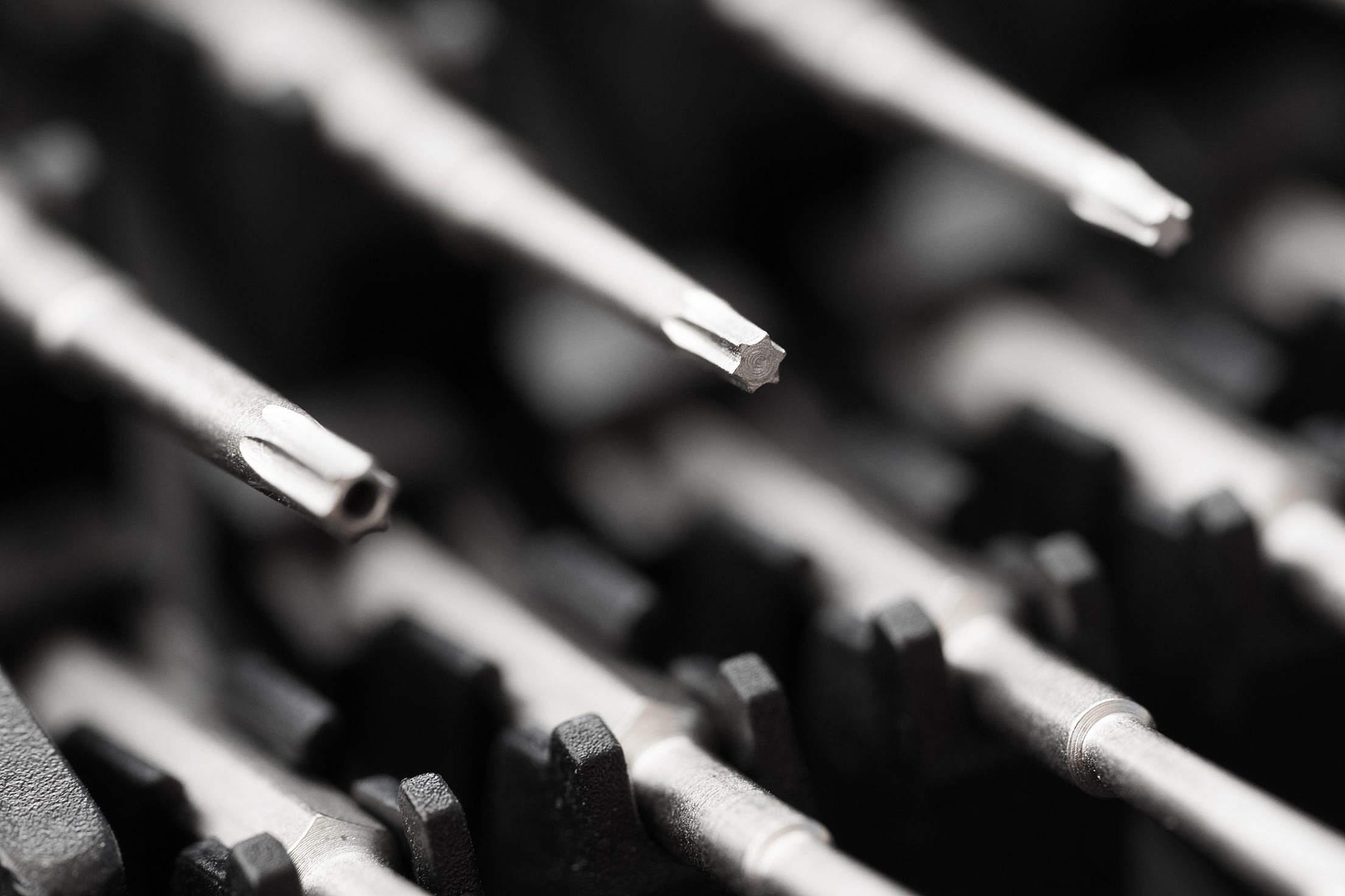 Precision Screwdrivers for Repairing Broken Smartphones Free Stock Photo