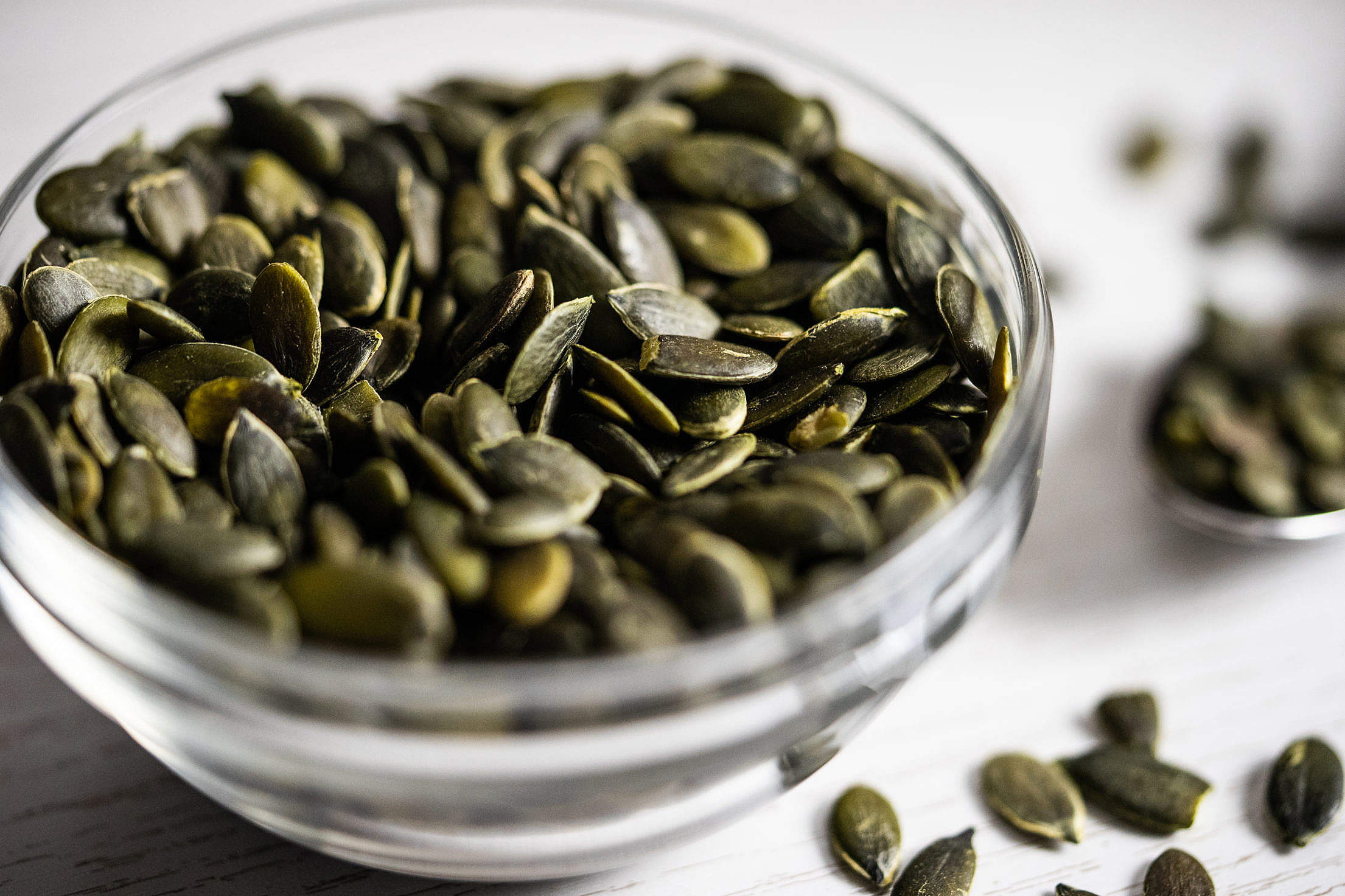 Pumpkin Seeds Free Stock Photo