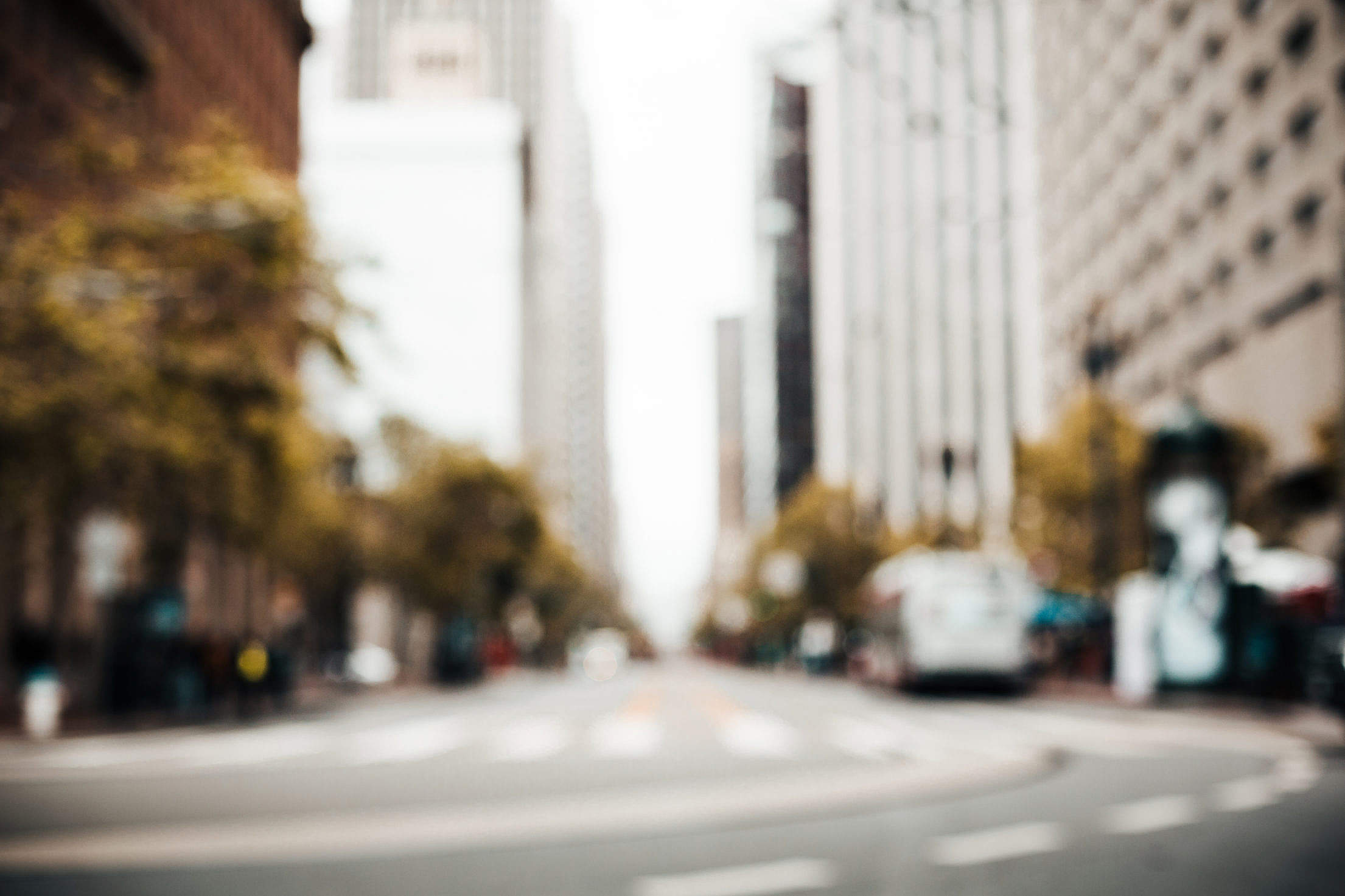 Download Random San Francisco Street Blurred Background Free Stock Photo