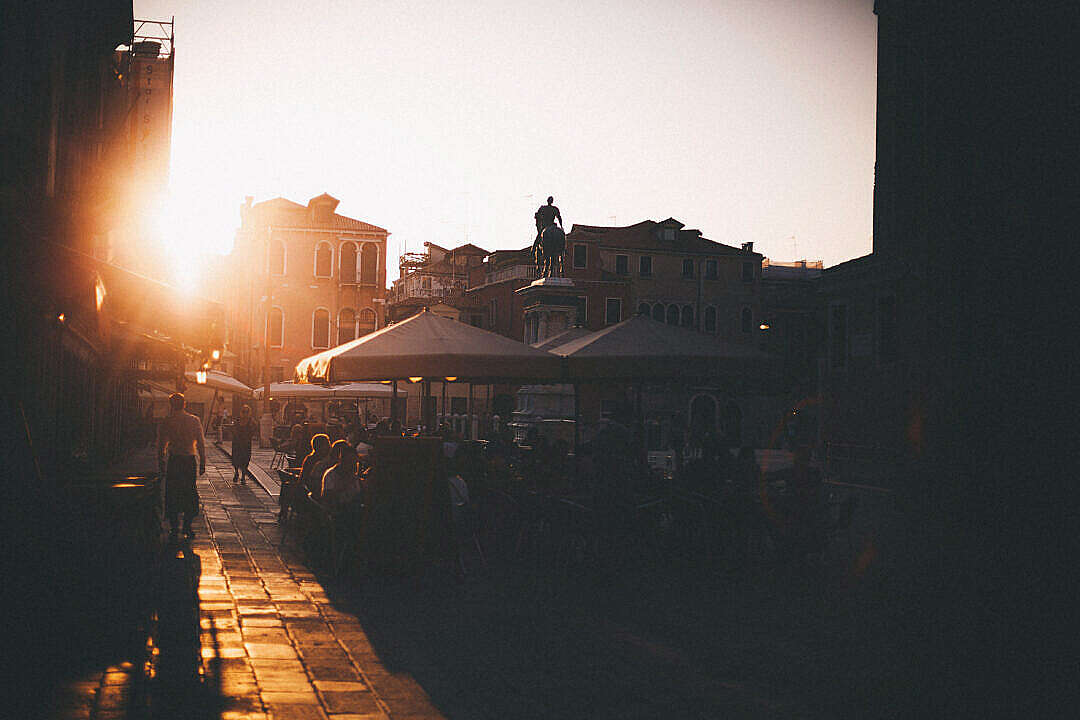 Download Random Square in Venice, Italy FREE Stock Photo