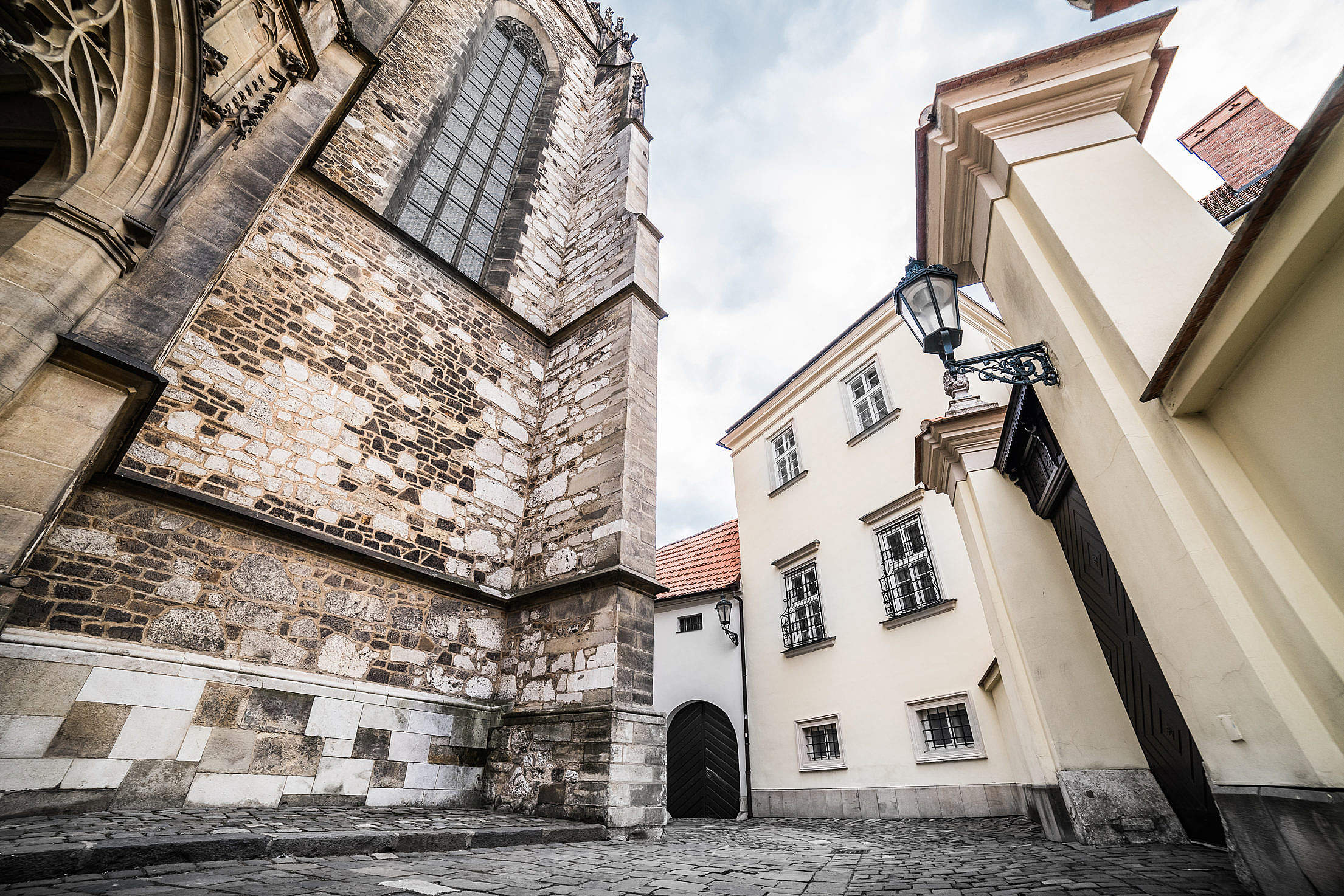Random Streets in Old Brno, Czech Republic Free Stock Photo