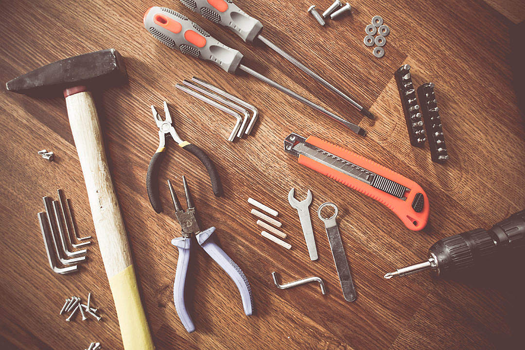 Download Real Men's Tools FREE Stock Photo