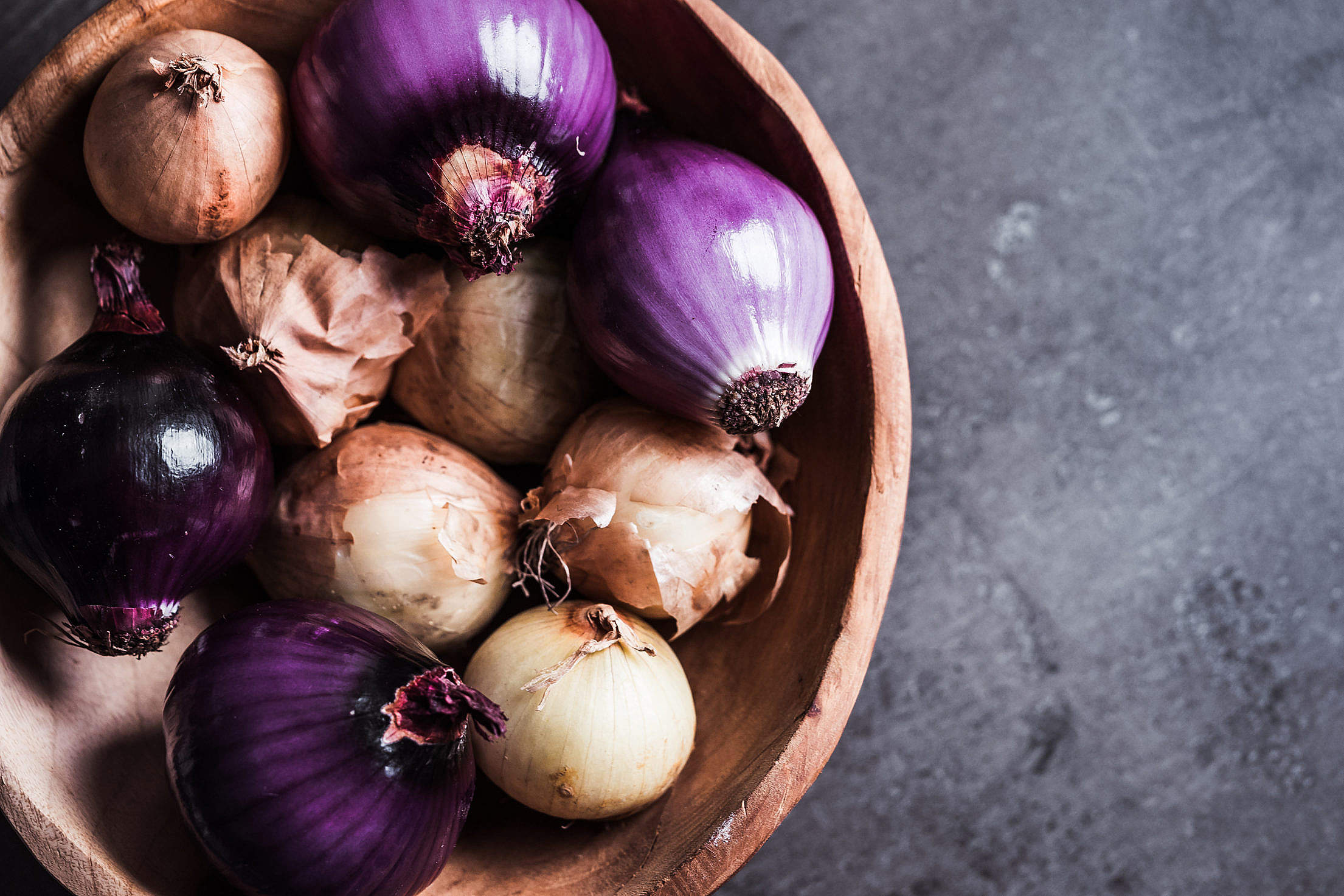 Download Red and Yellow Onions Free Stock Photo