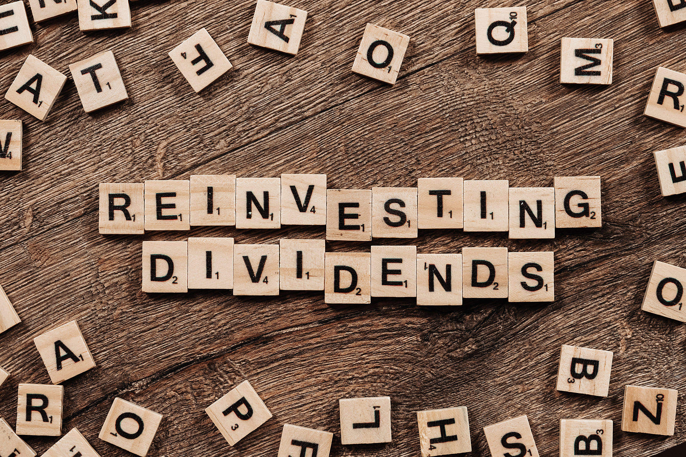Reinvesting Dividends Free Stock Photo