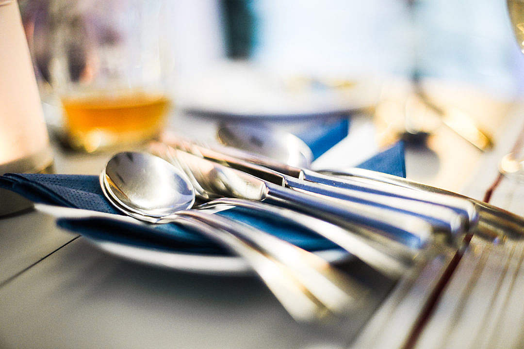 Download Restaurant Cutlery FREE Stock Photo