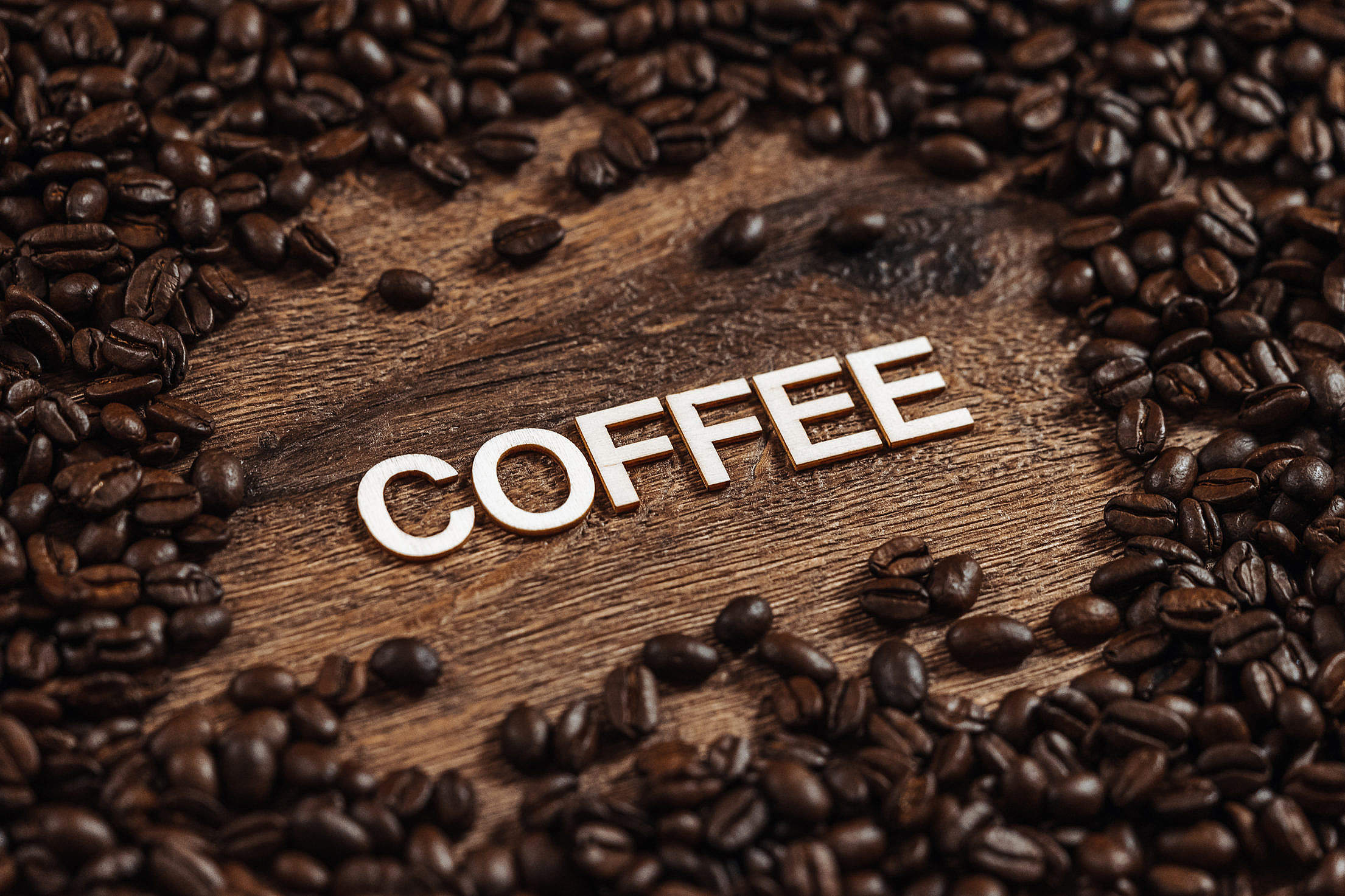 Roasted Coffee Beans Free Stock Photo
