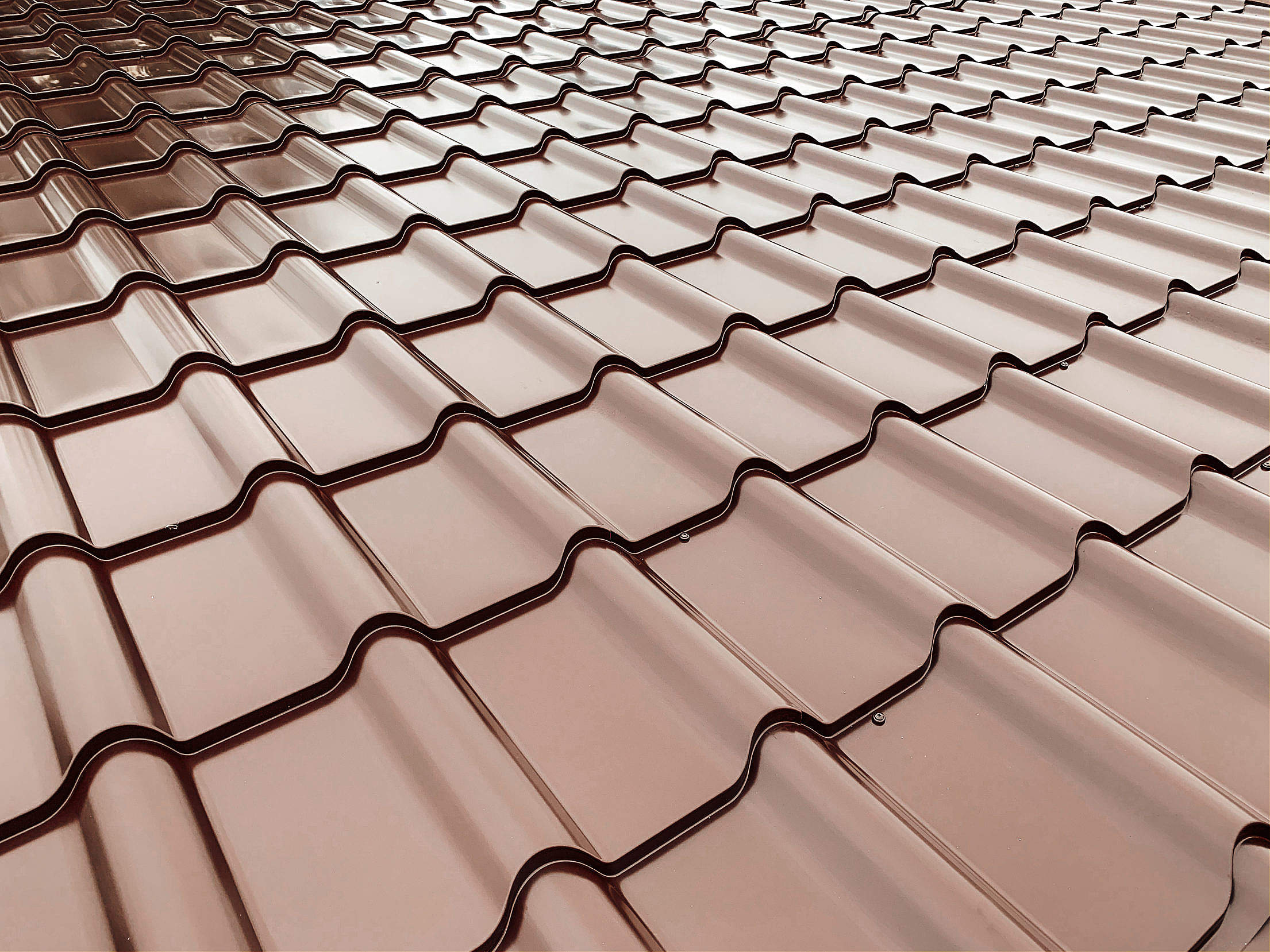 Roof Tiles Close Up Free Stock Photo